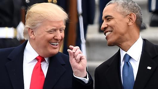 Barack Trump and Donald Obama