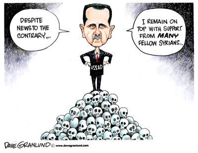 Kill Animal Assad, Russia Will Replace Him, Not the Islamists