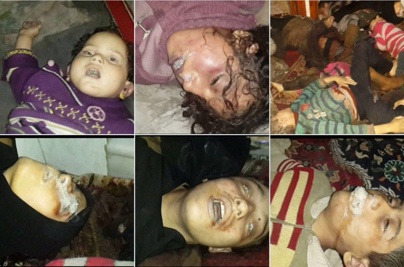 One Day After US Russian Sanctions Assad Drops Deadly Sarin Gas on Civilians