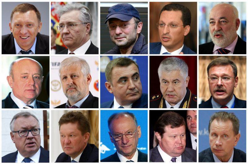 United States Sanctions Close Putin Allies