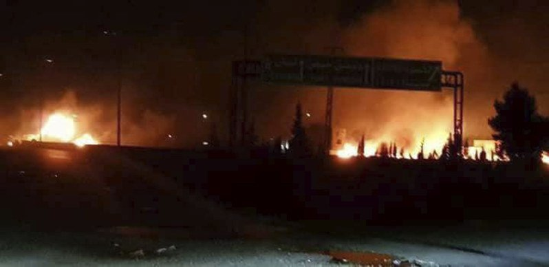 Another Israeli Attack Against Iranian Military Assets in Syria