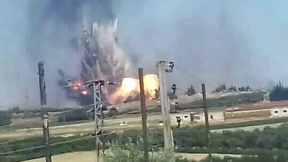 Hama Air Base Mysterious Explosions Kill 28 Pro Assad Terrorists