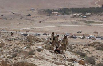 Islamic State Ambushes Assad Fighters Near Palmyra