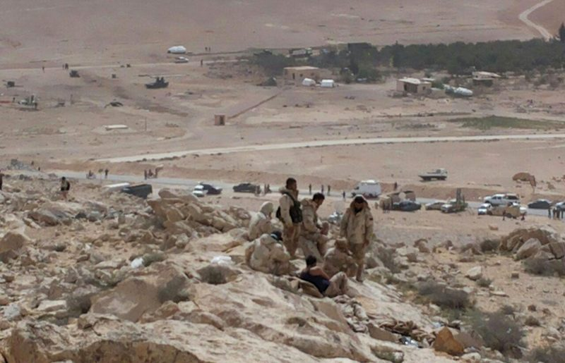 Islamic State Ambushes Assad Fighters Near Palmyra