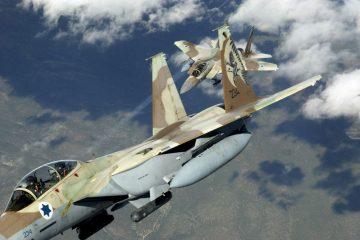 Hezbollah Demonstrating Israeli Effective Bombing Runs in Syria