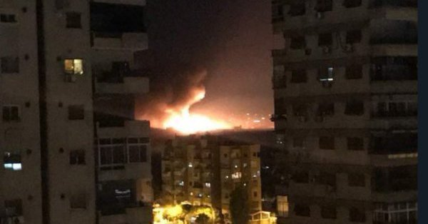 Israel Strikes Damascus Mezzeh Military Airport