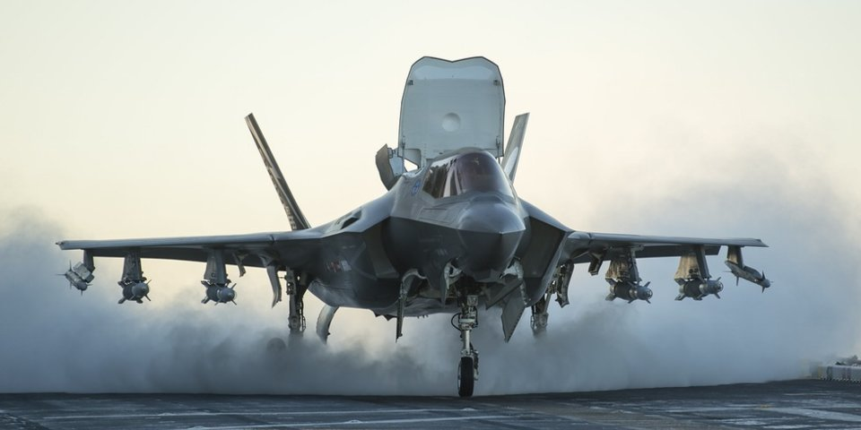 Pentagon Deploys Stealth F-35B Jet Fighters To Syria