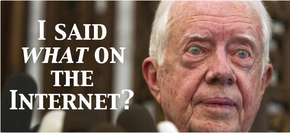 Responding to Jimmy Carter Ugly Opinion