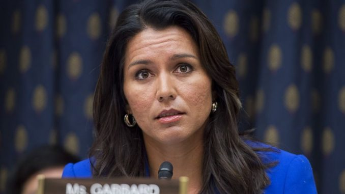 Tulsi Gabbard Supports Chemical Warfare Against Syrian Civilians