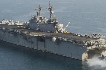 USS Essex PossiblyDeterred Idlib Assault