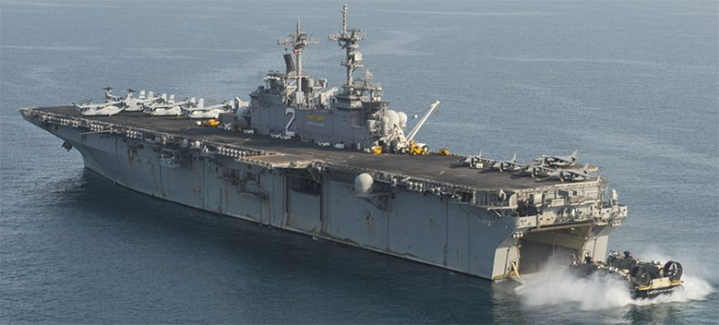 USS Essex Possibly Deterred Idlib Assault