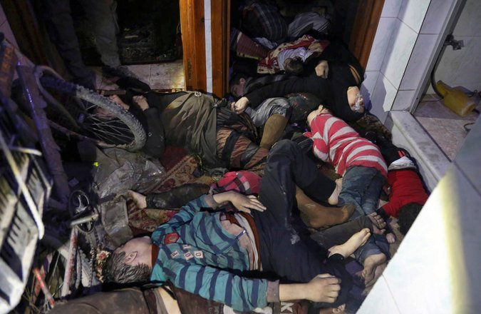 United Nations Documented Chemical Assad WMD Attacks