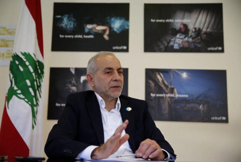 Assad Terror Slows Refugees Return Says Lebanon Minister
