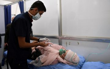Chemical Assad Gasses Aleppo