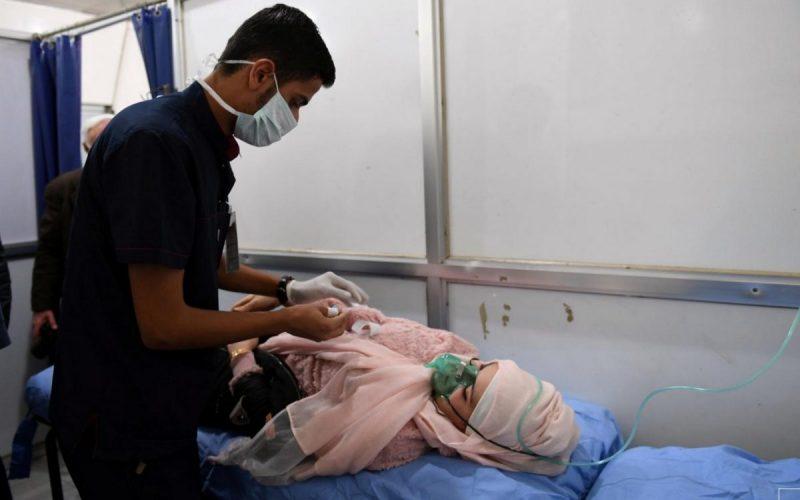 Chemical Assad Gasses Aleppo