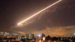 Israel Strikes Iranian Weapon Depots Near Damascus