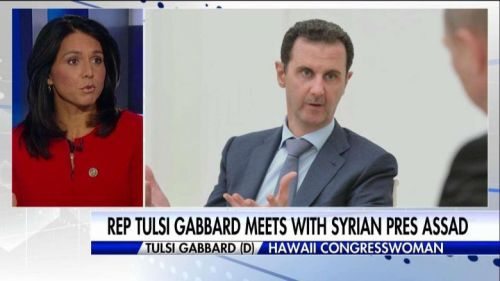 Gabbard Took Money from Assad Now Wants The White House