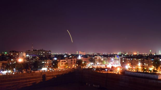 Israeli Warplanes Hit Damascus Airport Warehouse