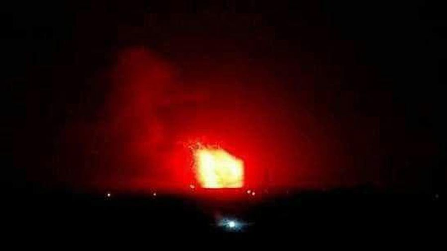 Israel Struck Iranian Ammunition Depots Around Aleppo
