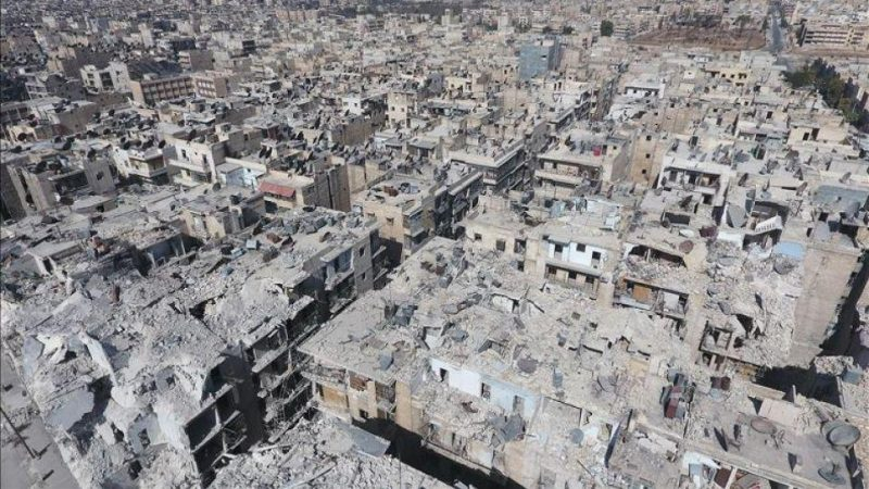 Powerless Assad Reigns Over Ruins