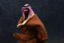 Mohammad bin Salman Evil Spreads Like Cancer
