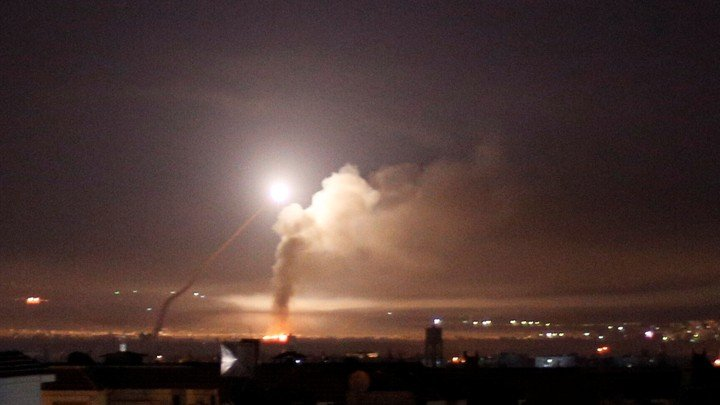 Israel Attacked Iranian and Hezbollah Bases in Syria