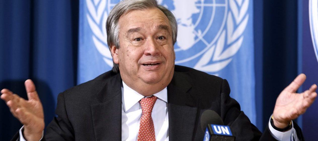 Falafel Interviews Antonio Guterres