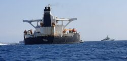Gibraltar Detained an Oil Tanker Headed to Syria