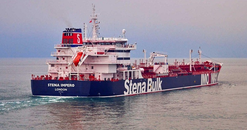 Iran Seized Two Oil Tankers off the Strait of Hormuz