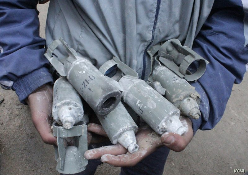 Putin is Helping Assad Cluster Bomb Civilians