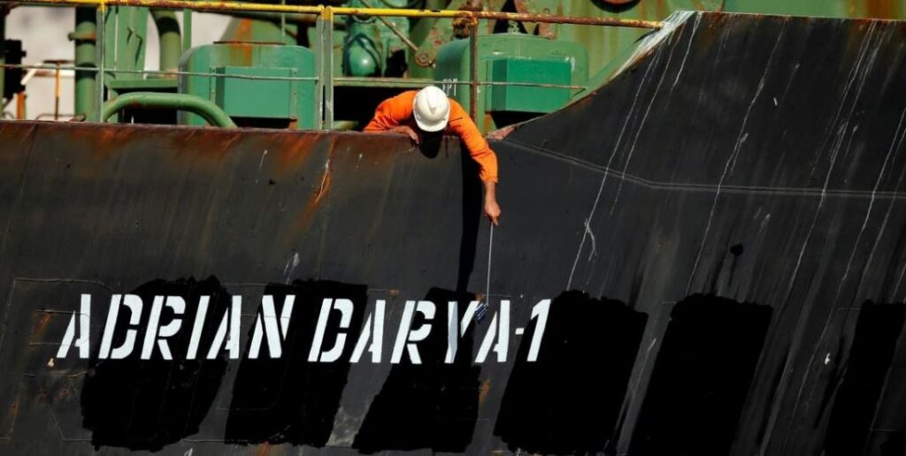 Oil Tanker Adrian Darya I Goes Dark Near Syria