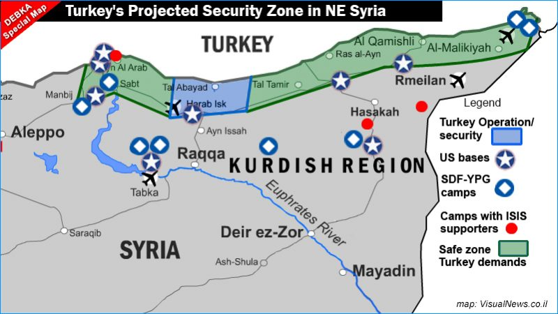 Germany Proposes Security Zone in Syria