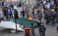 Hezbollah Terrorizes Lebanese Protesters