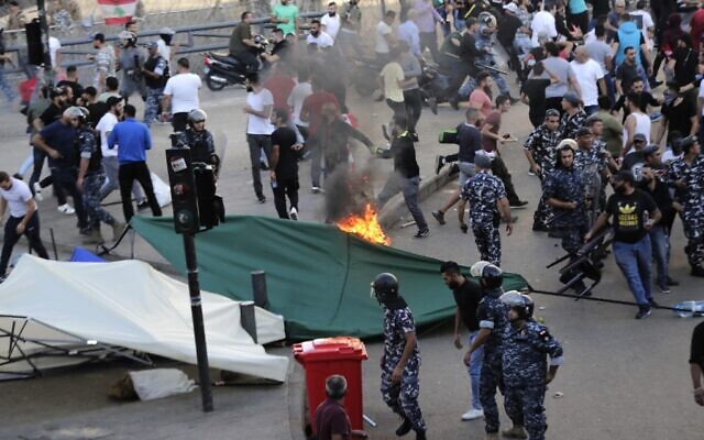 Hezbollah Terrorizes Lebanese Protesters. Prime Minister Hariri Quits