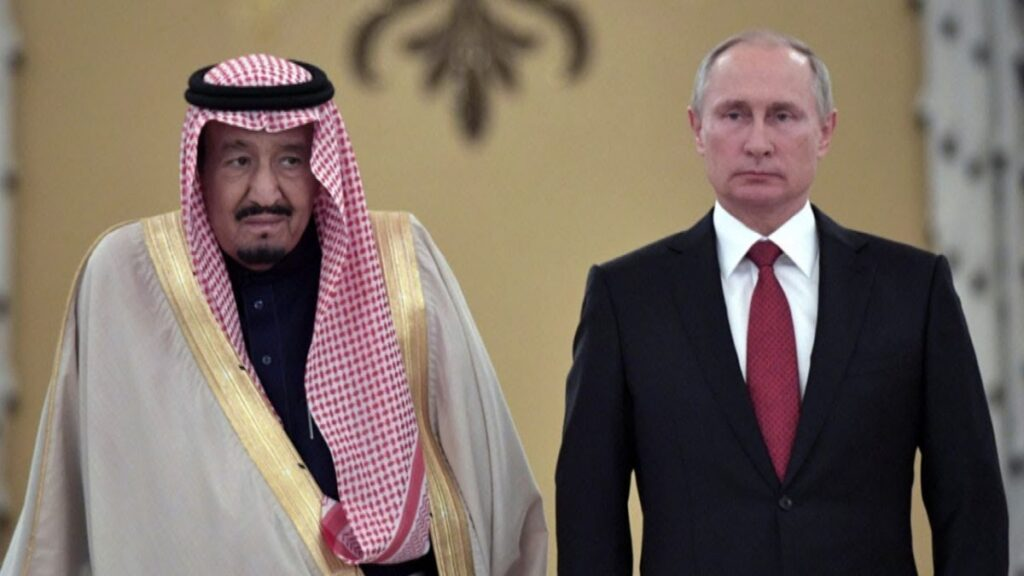 Putin Visits Saudi Arabia As Sign of More Influence