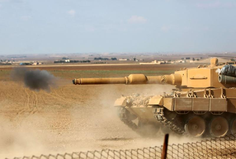 Syrian and Turkish Forces Clashed Near Border