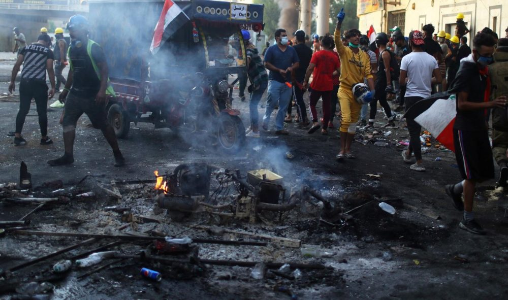 Iraqi Unrest Prompts the US to React
