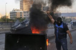 Lebanese Protesters Paralyze Beirut, Terrorist Hezbollah Waits Them Out