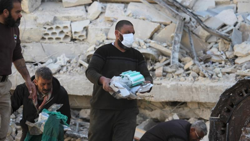 US State Condemns Russian Strikes on Syrian Hospitals