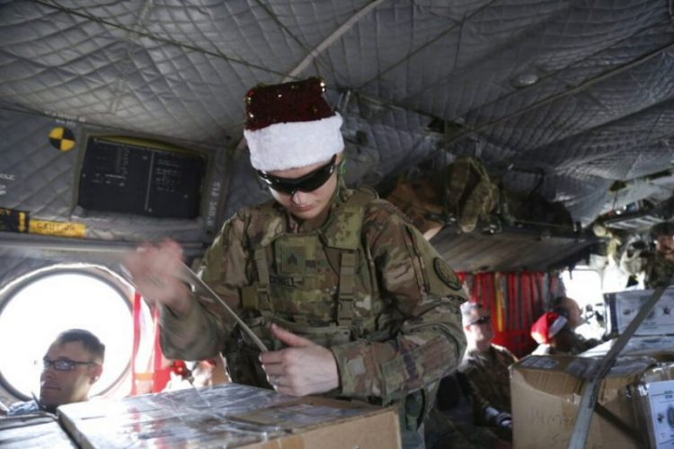 Operation Holiday Express Brings Joy to US Troops in Syria