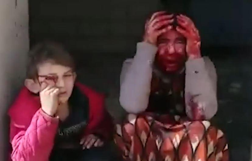 Watch Assad Kill Terrorist Girls Hiding Heavy Weapons