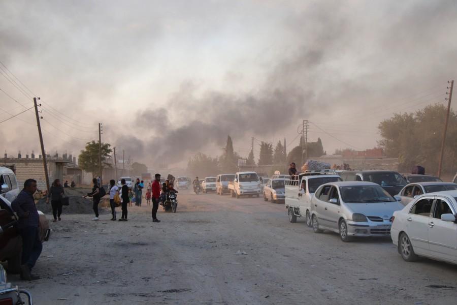 Assad Terrorizes Idlib Civilians. Syrian Exodus Underway