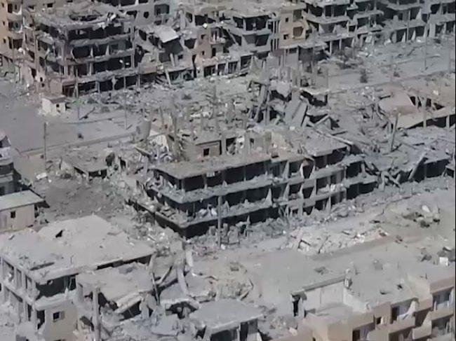 Total Destruction of Syria