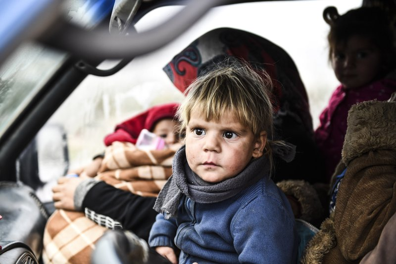 Russian Terror Displacing 800,000 Syrian Civilians. Mostly Women and Children