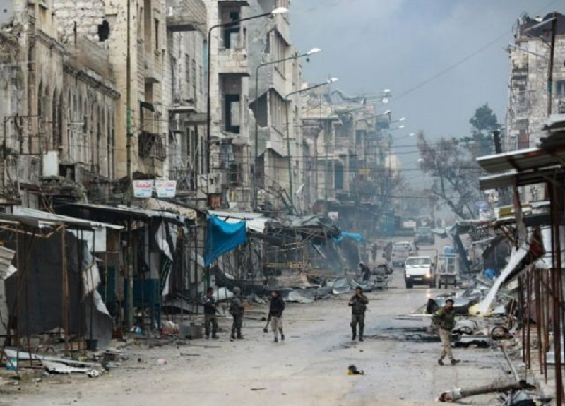 Syrian Opposition Fighters Drove Assad Troops Out of Saraqeb