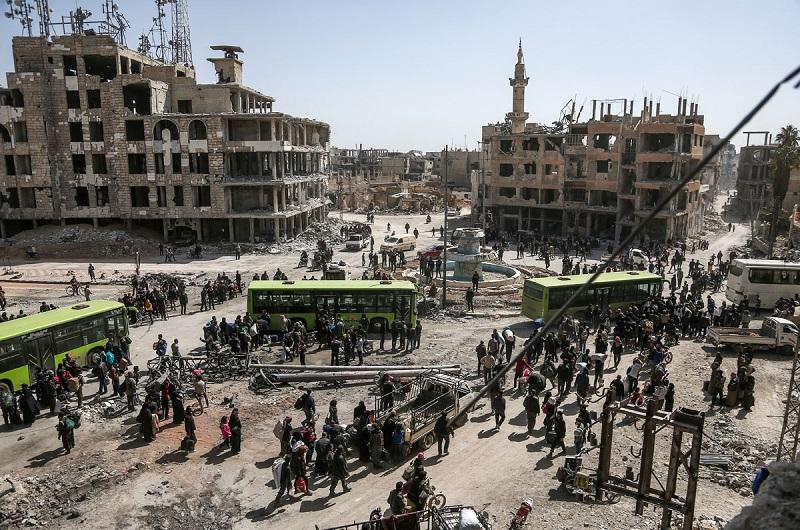 Assad Regime Claims War-Ravaged Country is Coronavirus Free