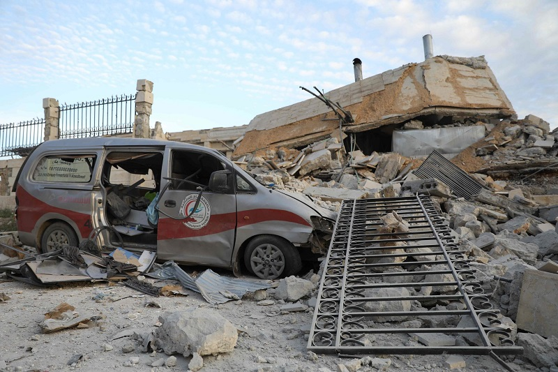 Assad and Putin Struck Over 500 Medical Sites in Syria