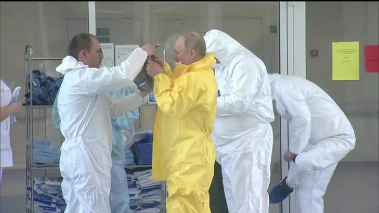 Russian Coronavirus Cases Jump Dramatically