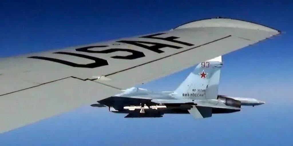Russia Recklessly Intercepts US Spy Plane in International Waters