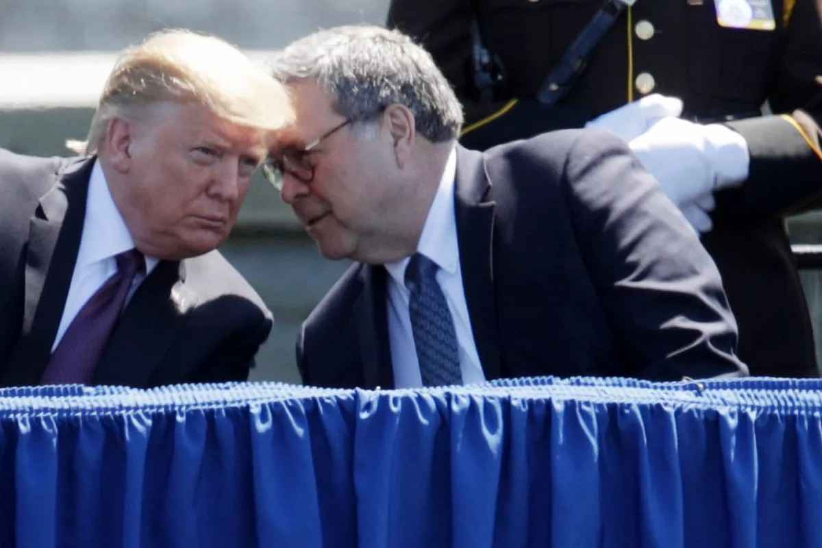 Trump the Godfather and His Consigliere Barr